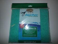 "Aqua Pure Phosphate Filter Pad 10"" x 18"" For Aquarium and Fish Tank Filters"