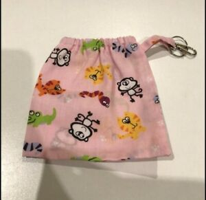 Pink Animal Print Dog Poo Bag or Treat Holder Lead Attachment Pouch Bag NEW