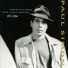 Paul Simon : Negotiations And Love Songs 1971-1986 CD (1990)