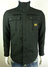 NEW G-STAR MENS JACKET AERONAUTICA OVERSHIRT L/S BLACK SIZE S SMALL