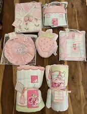 Complete Baby Girls Nursery Set Sweetie Pie Cot/cotbed Bedding Etc