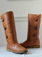 Leather Mod/GoGo Vintage Boots for Women