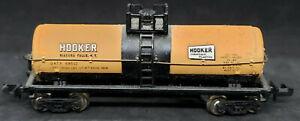 Bachmann N Scale: HOOKER Niagara Falls NY GATX #69502 ORANGE TANK CAR. VINTAGE