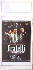 locandina playbill CINEMA FRATELLI THE FUNERAL ABEL FERRARA WALKEN DEL TORO