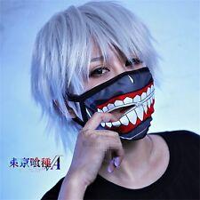Mask Kaneki Ken Face Masks Zipper Cycling Anti-Dust Anime Tokyo Ghoul Cosplay