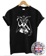 Baphomet T-Shirt - Satanic emo Pentagram goth rock punk metal