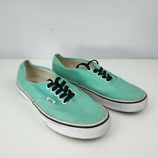 Vans Mint Green Low Size UK 8 EUR 42