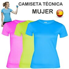 1d51bf64d875a Camiseta Tecnica Mujer Fitness GYM Yoga Running Oferta Pashag Sports