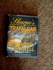 BERNARD CORNWELL - SHARPE'S TRAFALGAR  - AUDIO BOOKS -    ( 2 CASSETTES )