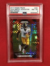 New Listing2017 Prizm Red Power JuJu Smith Schuster Rookie 16/49 Psa 8 Steelers Wr Rc