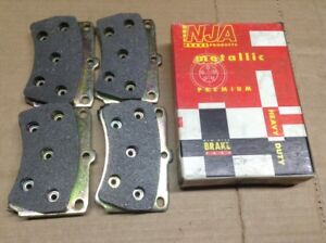New NJA Metallic Disc Brake Pad Pads Front MD466