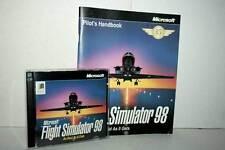 MICROSOFT FLIGHT SIMULATOR 98 USATO PC CDROM ED AMERICANA GD1 50011