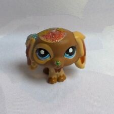 LITTLEST PETSHOP LPS #2570 HASBRO CHIEN CAVALIER KING PAILLETÉ CUSTOMISÉ CUSTOM