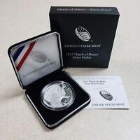 (1) 2015 W March of Dimes $1 Commemorative Proof Silver Dollar Coin w/COA & Box