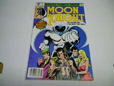 MOON KNIGHT # 1 (1980) 1st App: BUSHMAN! Newsstand! High Grade! CGC Worthy!!