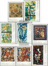 Polen 2102-2109 (kompl.Ausg.) postfrisch 1971 Glasmalerei