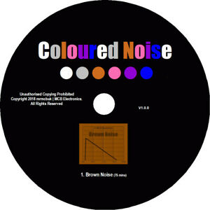 Brown Noise Test Tones CD - Relaxation Meditation Background Block Out Tinitus