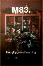 M83 Hurry Up Were Dreaming Ltd Ed New RARE Poster +FREE Indie Rock Dance Poster!