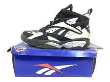 1994 Rare! Reebok Pump Vertical 3 Mid Blk/wht Size 11.5 Insta pump Basketball