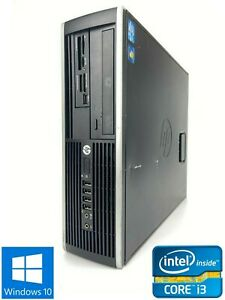 HP Elite 8200 SFF - 250GB HDD, Intel Core i3-2120, 8GB RAM - Win 10 Pro