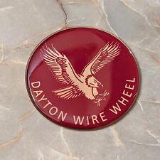 Burgundy Eagle Dayton Wire Wheel Chips Emblems Decals Set Of 4 Size 225in