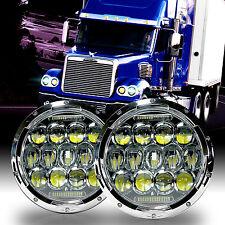 LED Headlamp Headlights Chrome Upgrade Kit for Freightliner CORONADO