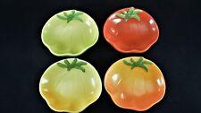 Williams Sonoma Heirloom Tomato Shaped Condiments Bowls - Set of 4