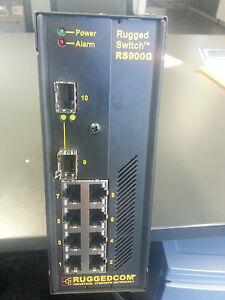 RUGGEDCOM RS900G-HI-D-SFP-C01 Industrial Ethernet RUGGED SWITCH Din mount