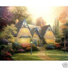 Kinkade, Thomas WINSOR MANOR 24X30 Signed Canvas *ALSO GET A FREE SPECIAL*