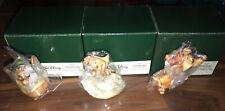 New In Box Harmony Kingdom Disney Cinderella Mice Gus Jaq Suzy Box Figurines