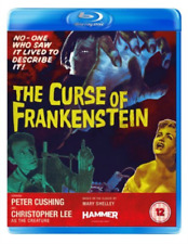 Curse of Frankenstein Blu-ray DVD Region 2