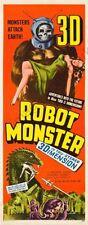 Robot Monster Movie Poster Insert 14inx36in 36cmx92cm Replica