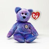 TY Beanie Baby 2001 Clubby IV Bear MWMT