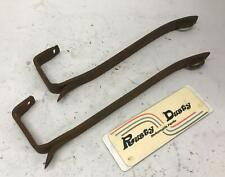 Vintage Iron Pry Bars Antique Tools Lot of Two