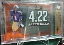 2017 Leaf Valiant John Ross Cincinnati Bengals Rookie Speed Kills 1 of 1 Card