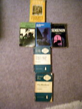 FIVE  PAPERBACKS BY SIMENON + hb 'MAIGRET AND THE GANGSTERS'
