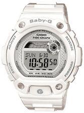 Casio Baby-g Ladies 200m Water Resist White Alarm Sports Watch Blx-100-7er