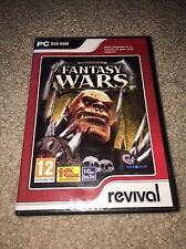 Fantasy Wars PC DVD-Rom Rare Brand New Sealed Video Game (Fantasy/Strategy RPG)