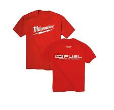 "Milwaukee Electric Power Tool ""FUEL"" Tee Shirt T-Shirt, Size LARGE"