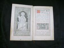 Missel des fidèles N°119 bis. Tome 1 -Sté de Saint-Jean l'Evangéliste...1896