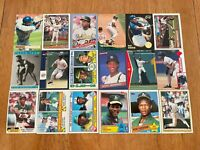 Lot of 100 RICKEY HENDERSON Baseball Cards TOPPS DONRUSS SCORE FLEER ATHLETICS++
