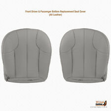 2001 Jeep Grand Cherokee Laredo DRIVER and PASSENGER Bottom Gray Leather Cover