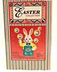 NIB Vintage 1995 Musical Bubble Blowing Rabbit Easter Bunny 8'