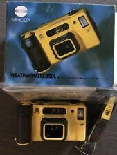 MINOLTA WEATHERMATIC 35DL Unterwasser- Kamera in OVP