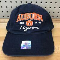Auburn Tigers NCAA SEC College Sports TOW Navy Blue Strap Back Cap NWT Dad Hat
