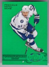 2012/13 FLEER RETRO STEVEN STAMKOS GREEN PRECIOUS METAL GEMS PMG CARD 3/10