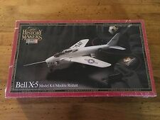 """Revell Bell X-5 Model Airplane Kit """"The History Makers"""" 1/40 Scale"""