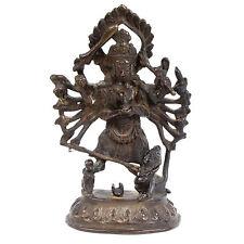 Nepal 19. Jh. Figur - A Nepalese Bronze Figure Of Durga - Statuette Népalais