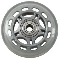 Skating Shoes 608ZZ Bearing Inline Skate Wheel Clear Gray F6