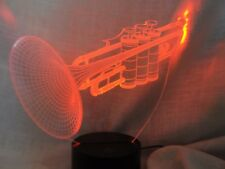 LED COLOR CHANGING TRUMPET LAMP